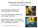 chemical resistant gloves1