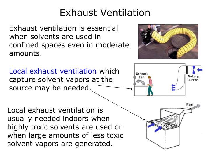 Exhaust Ventilation