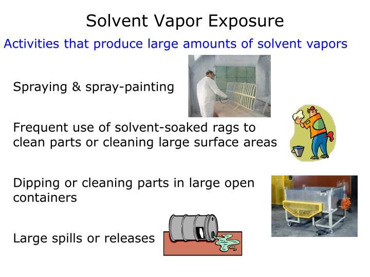 Solvent Vapor Exposure