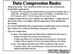 data compression basics