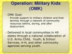 operation military kids omk1