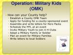 operation military kids omk3