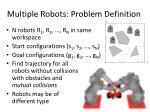 multiple robots problem definition