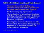 wco uncitral joint legal task force 3