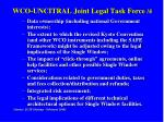 wco uncitral joint legal task force 4