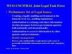 wco uncitral joint legal task force