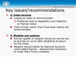 key issues recommendations2
