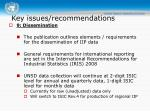 key issues recommendations6