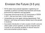 envision the future 3 5 yrs