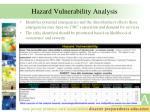 hazard vulnerability analysis