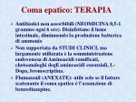 coma epatico terapia1