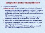 terapia del coma chetoacidosico1