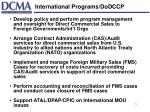 international programs dodccp