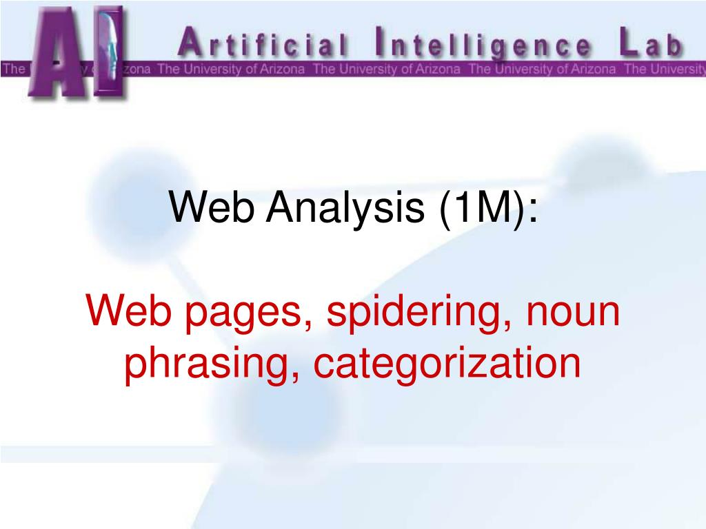 Web Analysis (1M):
