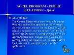 accel program public situations q a12