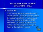 accel program public situations q a2