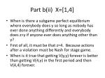 part b ii x 1 4