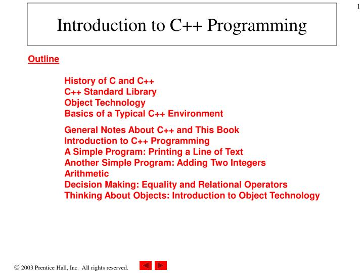 introduction to c programming n.