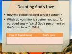doubting god s love3