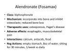 alendronate fosamax
