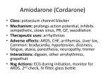 amiodarone cordarone