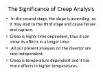 the significance of creep analysis