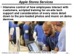 apple stores services