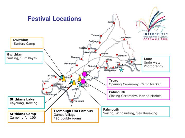 Festival Locations