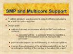 smp and multicore support