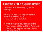 analysis of the argumentation1