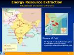 energy resource extraction natural gas at eastern off shore