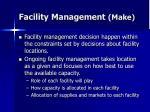 facility management make