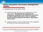 global geospatial information management ggim