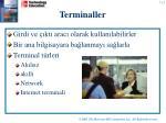 terminal ler
