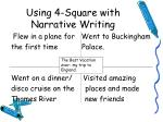 using 4 square with narrative writing1