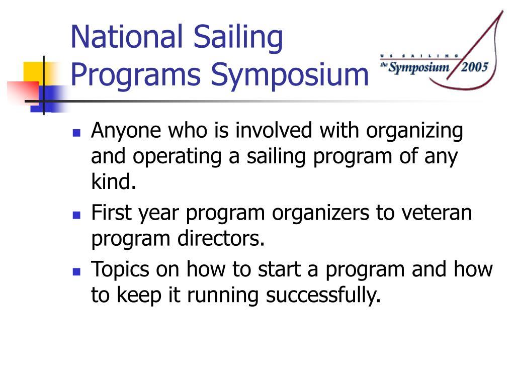 National Sailing