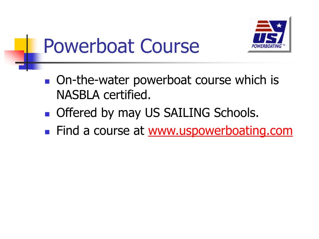 Powerboat Course