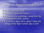 tonner air passenegers rights