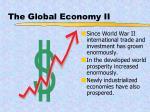 the global economy ii