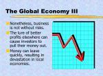 the global economy iii