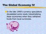 the global economy iv