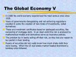 the global economy v