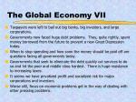 the global economy vii