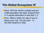 the global ecosystem iv