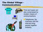 the global village communications