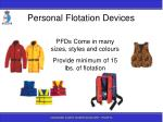 personal flotation devices5