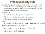 total probability rule1