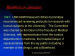 bioethics in jamaica1