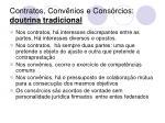 contratos conv nios e cons rcios doutrina tradicional