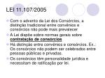 lei 11 107 2005